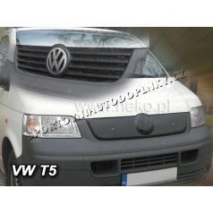 Zimní clona - kryt chladiče VW T5 (Transporter/Caravelle) 2003 - 2010 (4 žebra masky)