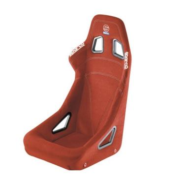 Pevná sedačka Sparco Sprint červená FIA homologace