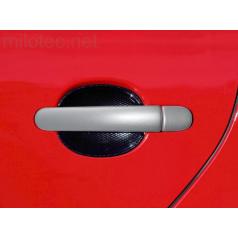 Kryty klik plné, ABS stříbrný (2+2 ks bez zámku), Roomster