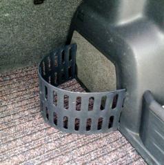 Originální plastová zábrana do kufru Škoda