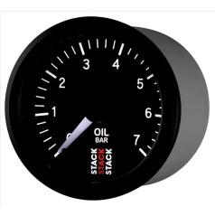 Stack elektronický budík tlak oleje 52 mm ST3301