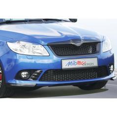 Rozšíření předního nárazníku, ABS - černá metalíza  Škoda Fabia II RS 09/2010+
