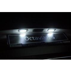 Mega Power LED osvětlení SPZ Škoda Octavia III