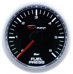 Přídavný budík Depo Racing Tlak paliva 52 mm