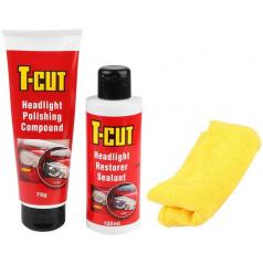 Renovační set T -CUT na leštění světlometů