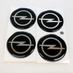 Znak Opel průměr 55 mm, 4 ks