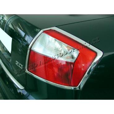 AUDI A4 2001-04 Chrom rámeček koncových světel 2 KS