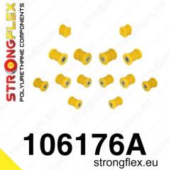 Mazda RX8 StrongFlex Sport sestava silentbloků jen pro zadní nápravu 14 ks