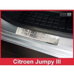 Nerez ochranné lišty prahu dveří 2ks Citroen Jumpy III 2016+