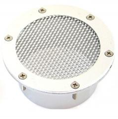 Alu nasávač vzduchu 77 mm stříbrný