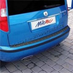 Práh pátých dveří s výstupky ABS-karbon Škoda Fabia I Combi/Sedan