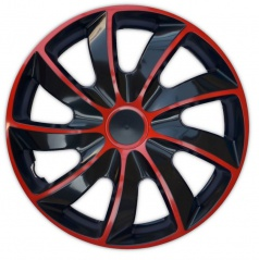 "Kryty kol Quad Bicolor Red 13-16"" (po 1 ks)"