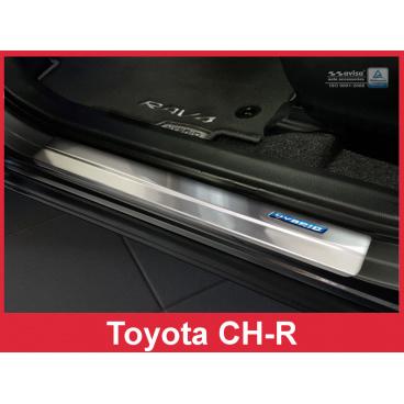Nerez ochranné lišty prahu dveří 4ks Toyota CH-R 2016