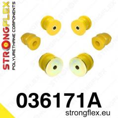 BMW rada 5 (E34) Strongflex Šport zostava silentblokov len pre prednú nápravu 6 ks