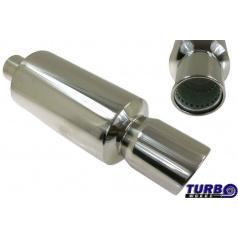 Sportovní výfuk TurboWorks kulatá koncovka II (76 mm vstup)