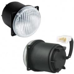 Světla pro denní svícení LED 1 - kulaté Wesem - 80x96 mm, 1 ks