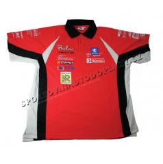 Oficiální Peugeot Rally Team - edice Pailler - Týmová polo-košile WRC