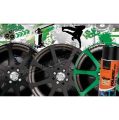 Barva na kola Foliatec - fólie ve spreji ŠEDÁ LESKLÁ