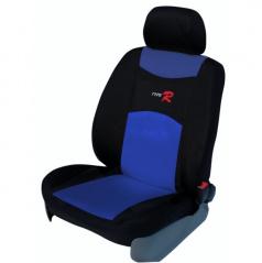 Autopotahy Type R-Škoda Superb I-nedělená zadní sedačka + loketní opěrka-modré