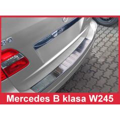 Nerez kryt-ochrana prahu zadního nárazníku Mercedes B W 245 2005-08