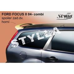 FORD FOCUS II combi 04+ spoiler zad. dveří horní (EU homologace)