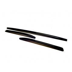 Škoda Kodiaq - dekorativní lišty předního nárazníku KI-R, 3-dílná sada Glossy black