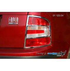 Škoda Fabia Rámeček zadních světel - combi, sedan - chrom (r.v. od 9/2004)