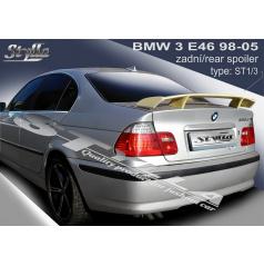 BMW 3/E46 SEDAN 98-05 spoiler zadní kapoty (EU homologace)