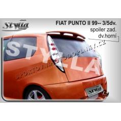 FIAT PUNTO II 5D 99+ spoiler zad. dveří horní (EU homologace)