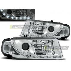 Škoda Octavia I 08.2000-2010 přední čirá světla Daylight chrome (LPSK01)