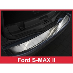 Nerez kryt- ochrana prahu zadního nárazníku Ford S-MAX II 2015-16