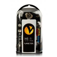 Box žiaroviek vr. poistiek UNI 12V / H1 VECTA