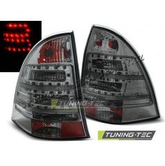 Mercedes C-Klasa W203 Kombi 2000-07 zadní lampy smoke LED (LDME62)