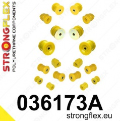 BMW rad 7 Strongflex Šport kompletná zostava silentblokov 14 ks