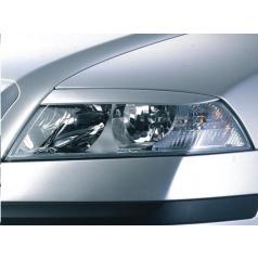 Kryty světlometů Milotec (mračítka) - ABS černý, Škoda Octavia II