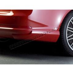 BODY-KIT RS zadní rozšíření nárazníku, ABS-černý, Škoda Octavia II RS