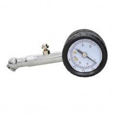 Měřič tlaku pneumatik kovový do 4 Bar, odpouštěcí ventil
