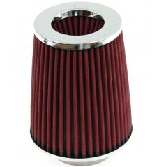 Sportovní vzduchový filtr kuželový červený (úzké tělo)