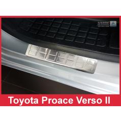 Nerez ochranné lišty prahu dveří 2ks Toyota Proace Verso 2 2016+