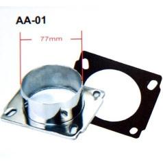 Univerzální redukce sportovního sání průměr 76 mm AA01