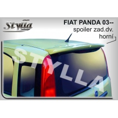 FIAT PANDA (03+) spoiler zad. dveří horní