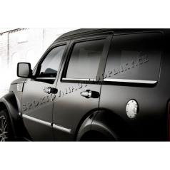 Dodge Nitro - NEREZ chrom spodní okenní lišty - OMSA LINE