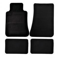 Autokoberce textilní černé pro celé auto III