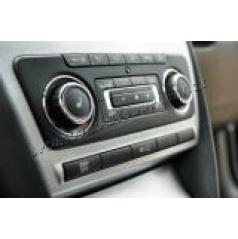 Škoda Superb II - NEREZ chrom rámečky climatronicu KI-R