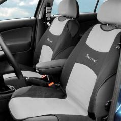 Potah sedadla TRIKO přední 2 ks šedý