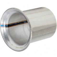 Opravný díl výfuku TRUMPETA průměr 45 mm NEREZ