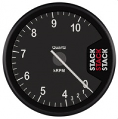 Stack profesionální otáčkoměr 80 mm ST400