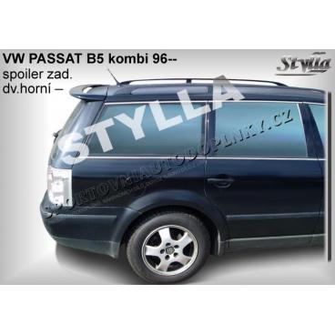 Volkswagen Passat combi 3B5 97-00 spoiler zad. dveří horní (EU homologace)