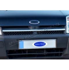 Ford Connect 02-06 - NEREZ chrom lišta přední masky OMSA