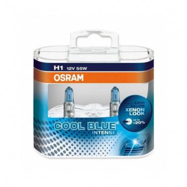 Žárovka Osram H1 12V 55W Cool Blue Intense - box 2ks